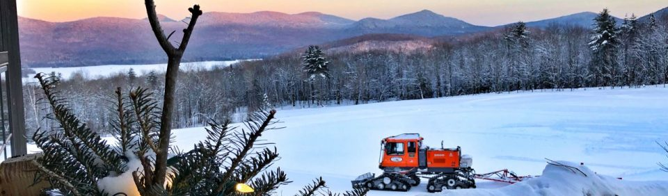 Groomer at Mountain Top